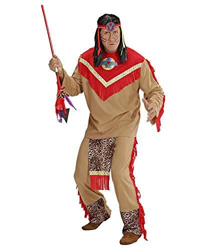 Widmaan Costume Carnevale Toro Scatenato Indiano, Travestimento Far West PS 28689-L