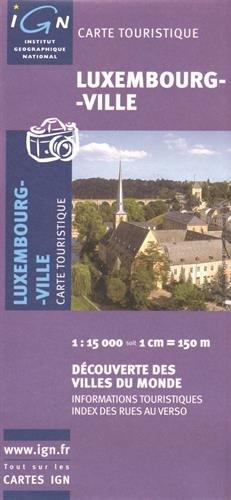 86318 Luxembourg Ville 1/15.000 par IGN
