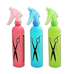 Glives 3pcs Spray Hairdressing Flowers Plants Water Sprayer Hair Salon Tool Bottle