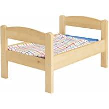 IKEA DUKTIG - cama Doll-s con juego de ropa de cama, pino,