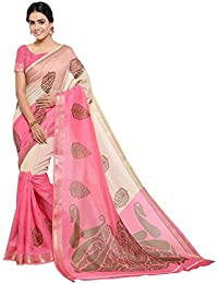 Samskruti Sarees Women's Cotton Silk Saree With Blouse Piece (Syuvef000538_Multi-Coloured)
