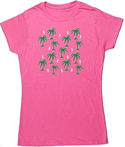 HippoWarehouse - T-Shirt - Femme - Rose - XL