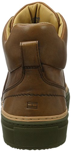 Tommy Hilfiger Herren B2285lanc 1a Sneaker Rollkragen Braun (Cognac)