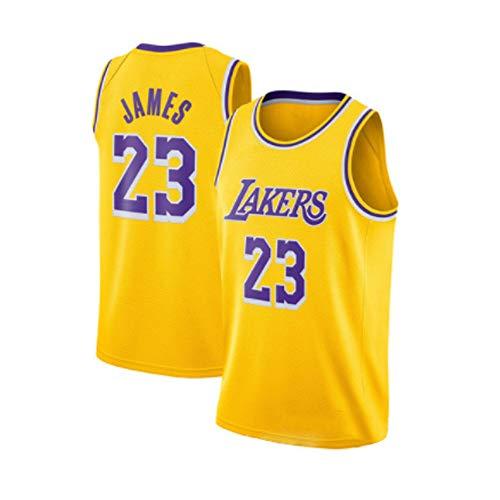 Holdzhu Basketball Jersey Herren T-Shirt Trikots - Los Angeles Lakers James 23 Vest Top