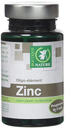 Zinc - 60 gélules - Boutique nature