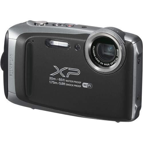 Fujifilm finepix xp130 cámara acuática de 3' (wi-fi, estabilizador óptico, Video Full HD, Bluetooth, 16.4 MP) Color Dark Silver.