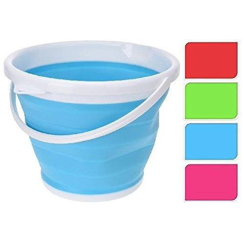 Mm Exclusiv - Evaginar de 10 litros cubo cubo de agua plegable plegable cubo de la fregona