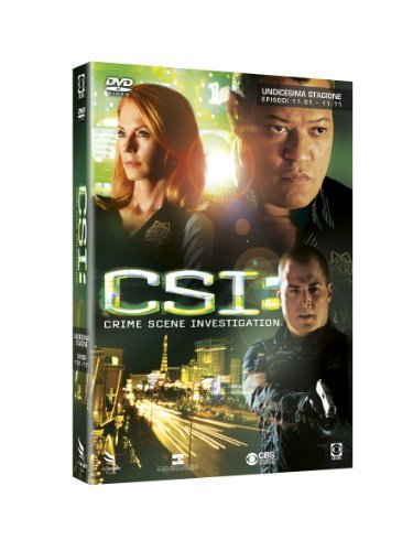 CSI - Crime Scene Investigation Stagione 11 Volume 01-11 [3 DVDs] [IT Import]