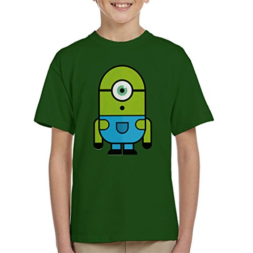 zovsky Despicable Me Monsters Inc Kid's T-Shirt (Monster Inc T Shirts)