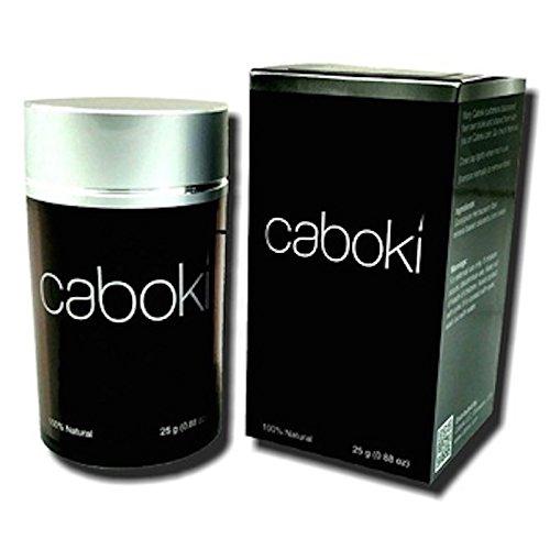 hair fiber Caboki Black Colour Hair Building, Hair Loss Concealer, 25 Gm