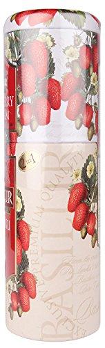 Basilur Schwarztee / Cremige Erdbeere 2 in 1