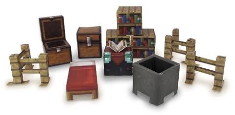 Character options Lot de cubes en papier Minecraft