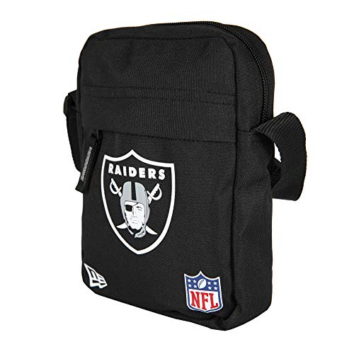 New Era NFL Side Bag Umhängetasche OAKLAND RAIDERS Schwarz, Size:ONE SIZE