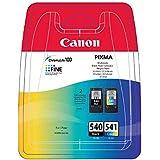 Canon - Cartouches d'encre d'origine pour imprimantes Canon PIXMA MG3650 - noir & couleur - PG540 / CL541