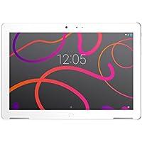 """BQ Aquaris M10 - Tablet de 10.1"""" (WiFi, MediaTek Quad Core MT8163B, RAM de 2 GB, memoria interna de 32 GB, Android 6.0 Marshmallow) color blanco"""