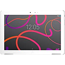 "BQ Aquaris M10 - Tablet de 10.1"" (WiFi, MediaTek Quad Core MT8163B, RAM de 2 GB, memoria interna de 32 GB, Android 6.0 Marshmallow) color blanco"