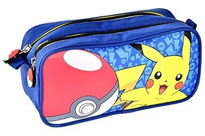 Alpa - 1 estuche con 2 compartimentos - Pokemon azul - 22 x 9 x 11 cm por ALPA