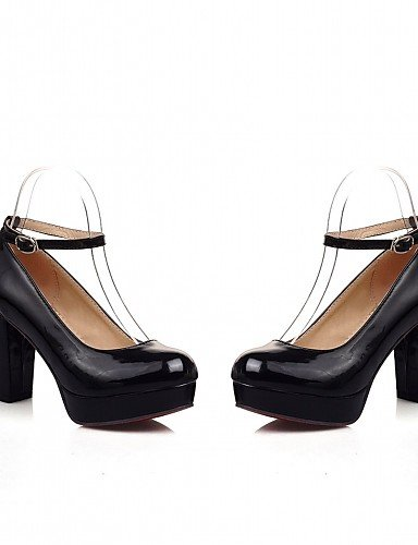 WSS 2016 Chaussures Femme-Bureau & Travail / Habillé / Décontracté-Noir / Vert / Violet / Amande-Talon Aiguille-Talons-Talons-Similicuir green-us7.5 / eu38 / uk5.5 / cn38