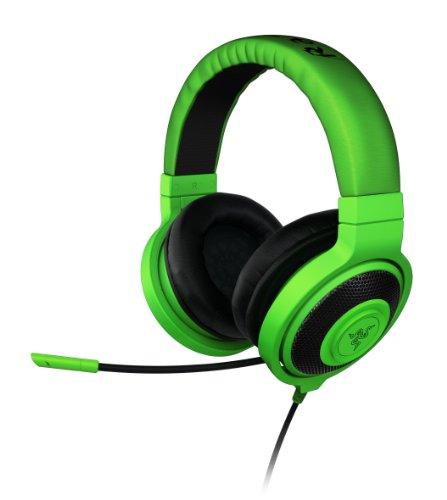 Razer Kraken Pro - Auriculares Gaming de diadema cerrados con micrófono, color verde