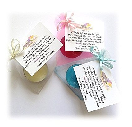 10 x personalised baby shower scented candle favoursgifts amazon 10 x personalised baby shower scented candle favoursgifts amazon kitchen home negle Choice Image