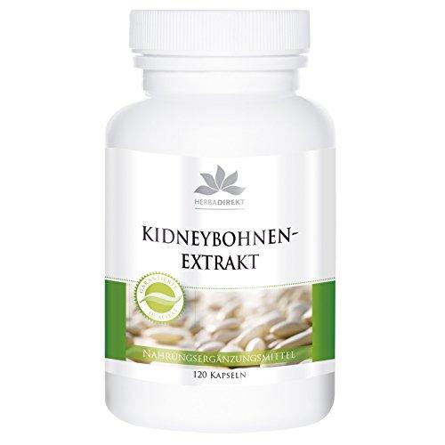 Kidneybohnen Extrakt mit Chrom - Grüner Kaffee und Bockshornklee -