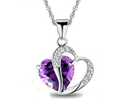 swarovski-element-blue-white-amethyst-heart-sterling-silver-pendant-necklaces-for-woman-girl-supply-