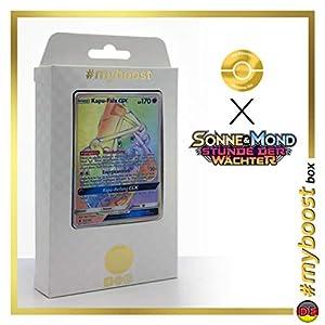 Kapu-Fala-GX (Tapu Lele-GX) 155/145 Arcoíris Secreta - #myboost X Sonne & Mond 2 Stunde Der Wachter - Box de 10 Cartas Pokémon Aleman