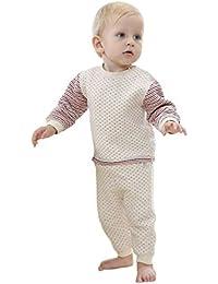 Pyjamas bébé sous coton bébé deux ensembles de printemps et d'automne épaississant des vêtements newborn , 73cm