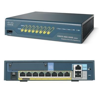 Cisco ASA5505-SEC-BUN-K8 ASA 5505 Adaptive Security Appliance -