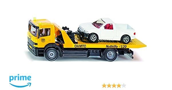 Autos & Lkw Siku 1667 Abschleppwagen mit PKW Apschleppauto Siku Super NEU