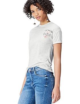 FIND Camiseta Mensaje Para Mujer