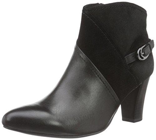 Caprice 25345, Stivaletti Donna Nero (BLACK COMB 19)