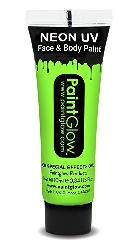 UV Neon Face & Body Paint Make up Grün