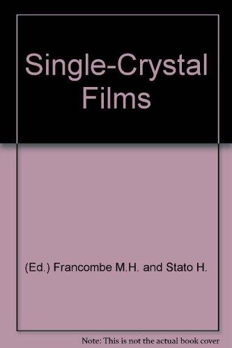Single Crystal Films Proceedings Pa 1963 (Single Mh)