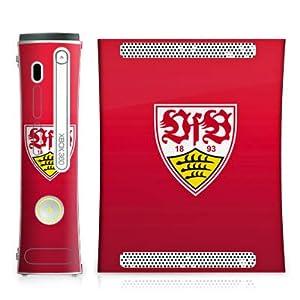 DeinDesign Microsoft Xbox 360 Controller Folie Skin Sticker aus Vinyl-Folie Aufkleber VfB Stuttgart Fanartikel 1893 Fussball