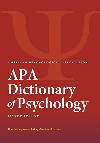 APA Dictionary of Psychology, Second Edition
