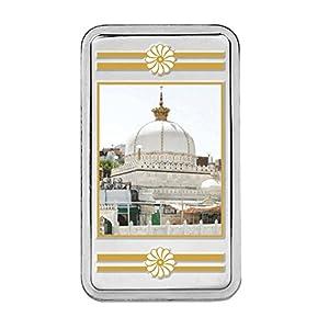 Kundan 20 gm, 999 Silver Ajmer Sharif Precious Coin