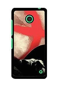 Caseque Feud Vendetta Back Shell Case Cover For Nokia Lumia 630