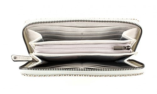 SURI FREY Izzy Large Wallet Safari Bianco