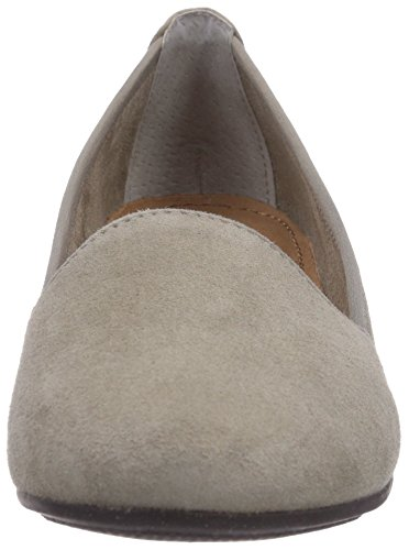 Jana - 22205, Scarpe col tacco Donna Grigio (Grau (GREY SUEDE))