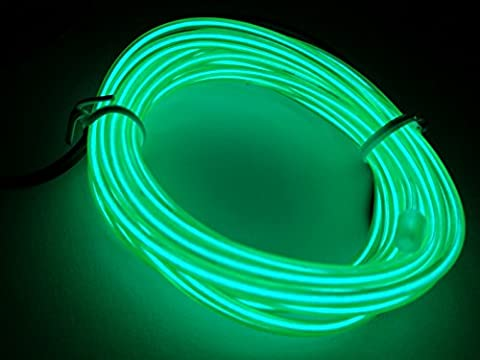 MuLucky EL Wire Tube Rope Battery Powered Flexible Neon Light