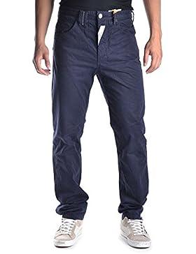 Galliano Hombre MCBI130087O Azul Algodon Pantalón