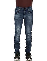 Infection Light Blue Washed Slim Fit Jeans For Men (1 Jeans)