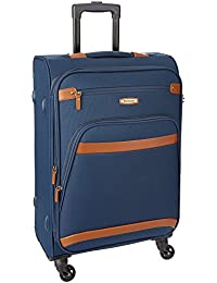 Aristocrat Morris Polyester 57 cms Dark Blue Soft Sided Carry-On (STMRRW57DBL)