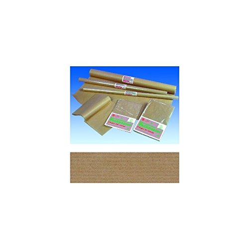 Packpapier-Rolle, 100cm breit, 10m lang, 85g/m², braun