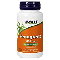 NOW Foods NOW Foods Fenugreek 500mg Caps. 100's