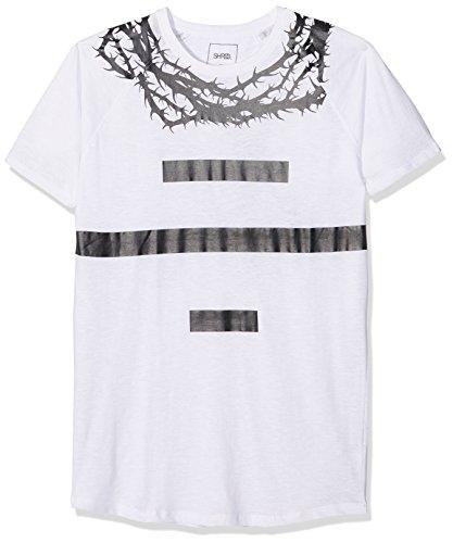 GYM AESTHETICS Gym aest hetics Messieurs Oversized Thorns T-Shirt Blanc 8475cd80f46