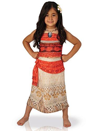 Preisvergleich Produktbild Vaiana Kostüm für Mädchen 110/116 (5-6 Jahre)