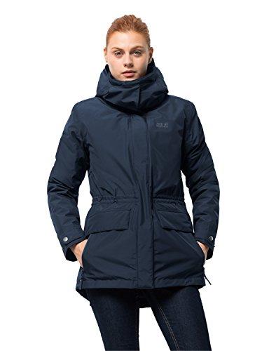 Tallberg Jacket Women 3-in-1-Kurzmantel Wasserdicht Winddicht Atmungsaktiv 3in1-Jacke, blau (midnight blue), M ()