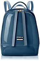 Furla Women's Candy S Back Pack Backpack Blue (Dolomia)